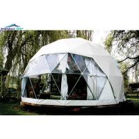 Buy cheap Customized 850g PVC Cover Geodesic Dome Tent Shaped For Camping from wholesalers