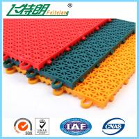 Buy cheap PP Installation Rubber Interlocking Floor Mats For Tennis / Basketball Court from wholesalers