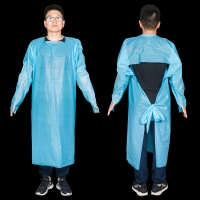 Buy cheap Comfortable Normal Size CPE Isolation Gown Apron from wholesalers
