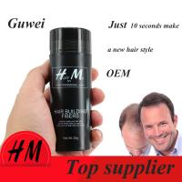 Buy cheap Guwee Number 1 anti hair loss product hair extension Refill hair fibers 9 color for choose from wholesalers