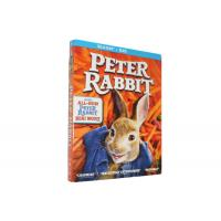 Buy cheap New Release Peter Rabbit Blu-ray DVD Movie Comedy Action Adventure Animation Series Blu-ray DVD For Family Kids from wholesalers