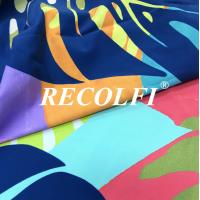Buy cheap Wefting Knit 2 Way Stretchy Functional Fabric Fair Munich Recycled Spandex Activewear Tights Pe Nation Quality from wholesalers