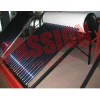 Buy cheap Galvanized Steel Homed Vacuum Tube Solar Water Heater Thermosiphon 200L Capacity from wholesalers