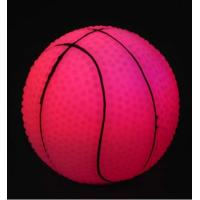 Buy cheap Colorful Flashing LED vinyl basketball,Wholesale Led vinyl products from wholesalers