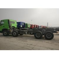 Buy cheap Euro 2 Sinotruk HOWO Heavy Dump Truck Chassis 371HP 9.726L Displacement from wholesalers