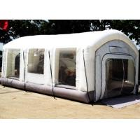Buy cheap Automotive Mini Outdoor Mobile Portable Car Inflatable Spray Paint Booth White Color from wholesalers