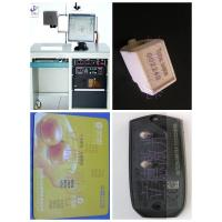Automatic Fiber Laser Marking Machine , Laser Etching Machine For Metal