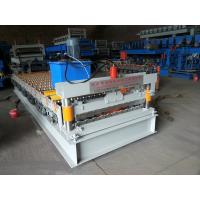 Buy cheap Colored Steel Plate Corrugated Roof Sheeting MachineAutomatic Length Cutting from wholesalers