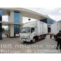 Buy cheap CLW brand refrigerated truck for fresh vegetables and fruits for sale, high quality cold room truck for frozen food from wholesalers