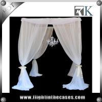 Buy cheap truss stand,modular exhibition booth,backdrop pipe and drape for wedding backdrop stand top wedding drape stand from wholesalers