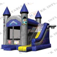 Buy cheap Happy Hop Inflatable Jumping Castle Slide For Party Playing Center from wholesalers