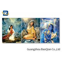 Buy cheap 30x40cm Size 3d Lenticular Flipped Picture With Frame For Restaurant Decor from wholesalers
