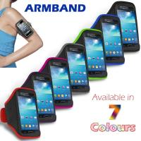 Buy cheap Colorful Sport Armband Neoprene Samsung Cell Phone Cases For Galaxy S4 Mini from wholesalers
