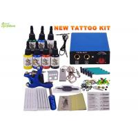 Buy cheap Fashion Home Tattoo Gun Starter Kit , Tattoo Machine Kits For Beginners from wholesalers