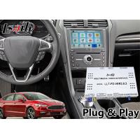 Buy cheap Android Auto Interface GPS Navigation for Ford Fusion sync3 system support front and rear camera from wholesalers