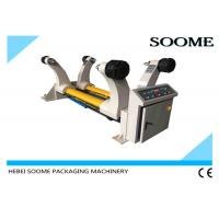 Buy cheap 1800mm Corrugated Paperboard Production Line , Shaftless Reel Hydraulic Mill Roll Stand from wholesalers