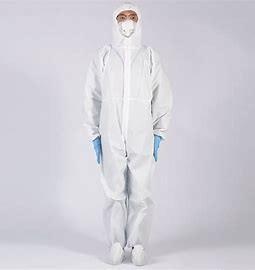 Buy cheap Anti Civil Virus PP Nonwoven Disposable Protective Suit product