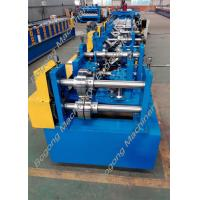 Buy cheap Automatic Cz Purlin Roll Forming Machine Post Punching Post Cutting from wholesalers