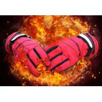 Buy cheap Electric Heated Hands Winter Ski Outdoor Work Warmer Gloves Cycling Motorcycle Bicycle Riding Windproof Glove W/ 2000mA from wholesalers
