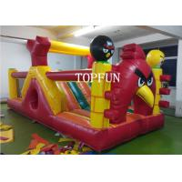 Buy cheap OEM 0.55 mm PVC Tarpaulin Inflatable Angry Bird Bouncy Castle Strong Sewing from wholesalers
