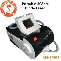 Buy cheap 2018 portable diode laser 808nm / diode laser hair removal machine for sale / 808 diode laser from wholesalers