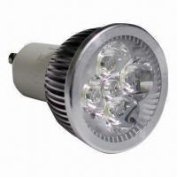 Buy cheap LED Outdoor Spotlight with 4W Power, 12V DC/85 to 265V AC Input Voltage, 2-year product