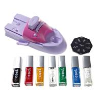 Buy cheap Lovely DIY Nail Art Stamping Printing Machine With 6 Metal Pattern Plates from wholesalers
