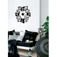 Buy cheap Modern Vinyl Wall Sticker Clock For Home Decoration 10A097 from wholesalers