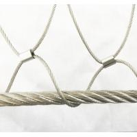 Buy cheap Stainless Steel Wire Rope Mesh For Cable Mesh Zoo Fence / Plant Climbing Forest Net from wholesalers
