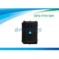 Buy cheap Optical Fiber Splicing Aerial Splice Enclosure 6 port Horizontally  24 cores from wholesalers