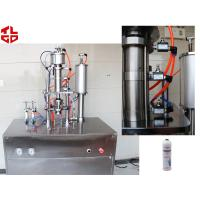 Buy cheap Refrigerant 134a Car Gas Filling Machine , Aerosol Spray Filling Machine from wholesalers