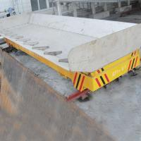 Buy cheap 5T Dragged Electric Transfer Cart Dumping With Large Table 12 Months Warranty from wholesalers