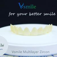 Buy cheap Multilayer 1200mpa super translucent CADCAM dental zirconia block from wholesalers
