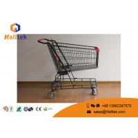 Buy cheap Zinc Plated 210L Stainless Steel Shopping Trolley 4 Wheel Folding Type from wholesalers