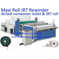 Buy cheap Steel To Rubber Embossing Maxi Jumbo Roll Tissue Machine from wholesalers