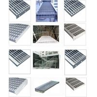 Buy cheap Stainless steel bar grating dip hot galvanized for walkway drainage trench pit cover from wholesalers