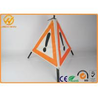 Buy cheap Portable Three Legs Tripod Triangle Warning Pyramids Sign Folding Type for Helipad from wholesalers