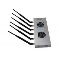 Buy cheap Wifi Bluetooth High Power Cell Phone Jammer 12w 6 Bands For Library from wholesalers