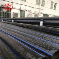 Buy cheap Black PN6 HDPE Water Supply Pipe SDR26 Customized Diameter ISO4427 from wholesalers