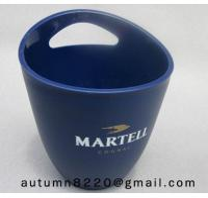 Buy cheap Clear dark blue plastic ice bucket product