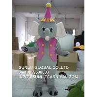 Buy cheap Elephant mascot costume , elephant costume for kid and adult from wholesalers