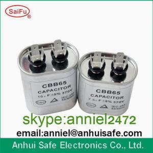 China ac capacitor CBB65 80UF 450VAC capacitor factory high quality metalized polypropylene film ac capacitor on sale