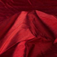 Buy cheap Soft and Elegence Red Yarn Dyed Silk Dupion Fabric from wholesalers