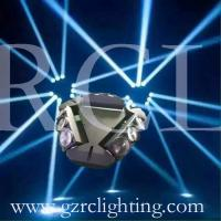 Buy cheap 9x10w RGBW 4in1 LED spider light LED 360° indefinite rotated disco lighting from wholesalers
