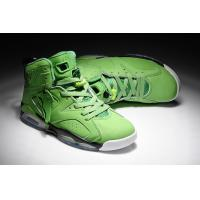 Buy cheap Air Jordan Retro 6 Basketball Shoes Men's footwear light green 033 from wholesalers