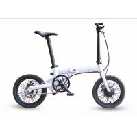 Buy cheap small size lightweight folding portable electric bicycle smart mini ebike with LCD display  lithium battery 14kg16inch from wholesalers