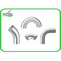 Buy cheap Durable Sanitary Pipe Fittings Elbow Pipe Fittings Union Connection For Food Industry Yogurt from wholesalers