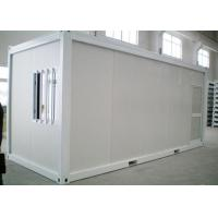 Buy cheap Sandwich Panel Steel Structure Flat Pack Container Homes For Living from wholesalers