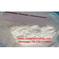 Buy cheap 99.8% Purity Natural Anti Estrogen Supplements Arimidex / Anastrozole For Cancer Treatment from wholesalers