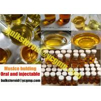Buy cheap Injectable Yellow Steroids Oil Drostanolone Enanthate / Masteron 200 from wholesalers